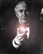 Edison and Lightbulb